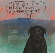 Life is full of insignificant disappointments. – Michael Lipsey