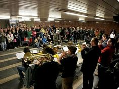 Day of Slavic Language and Culture - Grand Music Celebrations in  Moscow Subway