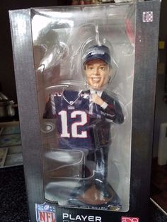 Tom Brady New England Patriots Draft Day10 Inch Bobblehead - New #ForeverCollectibles #NewEnglandPatriots