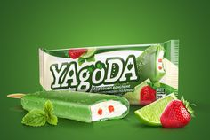 YAgoDA Ice Cream on Packaging of the World - Creative Package Design Gallery