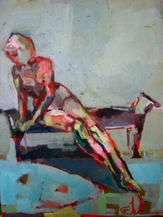 """""""Blue Nude I"""", by Teil Duncan"""