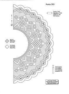ABANICOS EN BOLILLOS - maria baron - Picasa Web Albums Bobbin Lace Patterns, Weaving Patterns, Embroidery Patterns, Irish Crochet, Crochet Motif, Crochet Lace, Lacemaking, Lace Heart, Parchment Craft