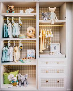 baby wardrobe nursery inspo