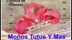 CORONITA DE PRINCESA Paso a Paso RIBBON SCULPTURE CROWN Tutorial DIY How...