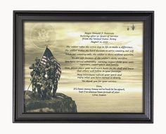 Army Retirement Poems Retirement Poems, Army Retirement, Retirement Parties, Soldiers Prayer, Welcome Home Soldier, Army Gifts, United States Army, Coast Guard, Fathers Day