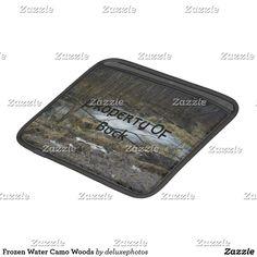 Frozen Water Camo Woods iPad Sleeve