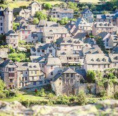 La touche française - Conques Aveyron France