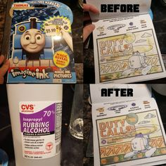 Anybody else get these Imagine Ink books for their kids and discover that there is more activity book than there is ink in the marker? How To Make Ink, Make It Work, Fun Activities For Kids, Book Activities, Crafts To Do, Crafts For Kids, Boredom Busters, Art Projects, Project Ideas