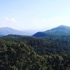 Love my mountain home. Ahhh  #love #beautiful #beauty #summer #mountains #blueridgemountains #appalachian #goodmorning #travel #wanderlust #wander #gypsy #goodvibes #instagood #mountain #mountainview #view #bluemountains #sky #skyline  #hippie #boho #blueridgeparkway #daybreak #potd #goodvibesonly #positivity #highsociety #clouds #dawn