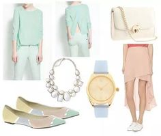 Pastel colours - perfect for spring !
