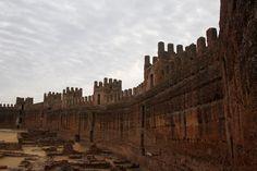 Uno de los castillos más antiguos de Europa. Fortaleza de Burgalimar Baños de la Encina en #Jaen #Spain