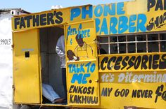Father Barber shop, Langa Cape Town. Jan 2009.