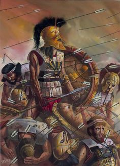 Last stand of King Leonidas, Thermopylae