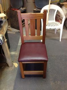 Kitchen Chairs - Woodworking creation by David & Brenda Sylvester