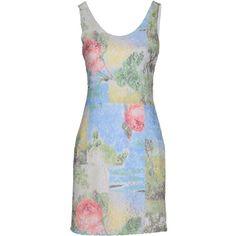 Silvian Heach Short Dress ($70) ❤ liked on Polyvore