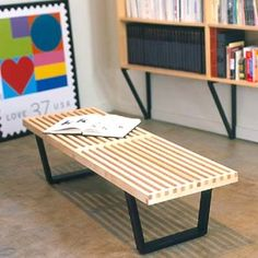 ikea coffee table bench