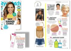Mary Kay at Play triple Layer Tinted Lip Balm in Pink Again as seen in        People Style Watch, July 2014.        www.marykay.com/amanda.keith