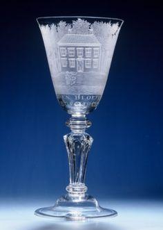 lameris glass antiques - Buitenplaats Bosbeek te Heemstede 18th C