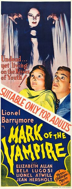 Mark of the Vampire (1935) Premiered 26 April 1935