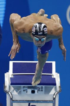#RIO2016 USA's Michael Phelps competes to win the Men's 200m Butterfly Final during the swimming event at the Rio 2016 Olympic Games at the Olympic Aquatics...
