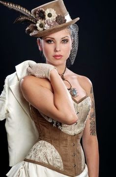 Victorian steampunk weddings are very original and gaining popularity today due to unique decor and fun details. If you are thinking over what to wear to such a ceremony, we are here to help you! You probably know that steampunk ...