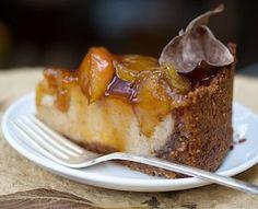 Apple Pie Cheesecake #vegan #dessert