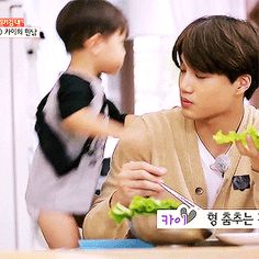 The child is a representation of all EXO-Ls towards our beloved Kai