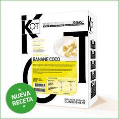 FARMACIA LAURIA - DIETAS Y CONTROL DE PESO. KOT Desayuno sabor plátano-coco ¡NUEVA RECETA!