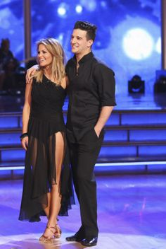 Mark Ballas & Candace Cameron Buree danced a Rumba to Say Something by A Great Big World featuring Christina Aguilera - Dancing With the Stars - week 2 - season 18 - spring 2014 - score of 30 possible points Cameron Bure Candance Cameron, Dj Tanner, Mark Ballas, Dark Blonde, Dancing With The Stars, Love Her Style, Role Models, Her Hair, How To Look Better