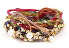 Lovely and colorful bracelet! There are a few very pretty (but expensive) bracelets and necklaces on this site.