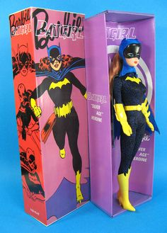Kailey Flyte ....Holy Hannah! I want this Batgirl doll!! Where so I get her!?