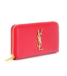 mytheresa.com - Monogram leather wallet - Luxury Fashion for Women / Designer clothing, shoes, bags