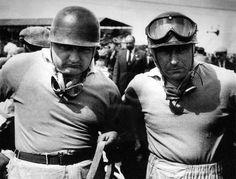 The Real Deal: 1953 British Grand Prix. Jose Froilan Gonzalez and Juan Manuel Fangio.