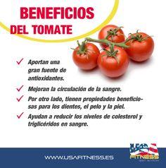 ¡Vamos a recordar los beneficios que nos aportan los tomates!, un alimento que podemos combinarlo y utilizarlo para preparar diferentes platos