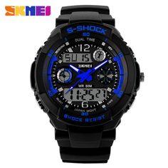 SKMEI Brand Military Sports Watch Digital LED Quartz - FREE SHIPPING