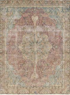 11.6 X 8.9 FT  353 X 270 CM Handmade semi antique by RetroRugs, €1290.00