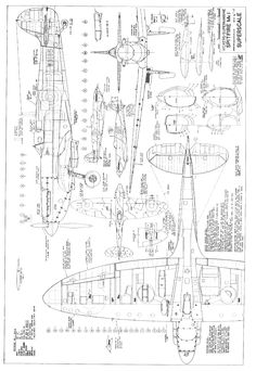 Supermarine Spitfire Blueprints Hd Images 3 HD Wallpapers | amagico.com