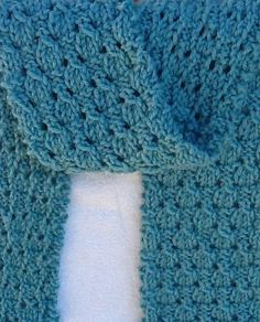 Free Knitting Pattern for Easy Dewdrop Scarf