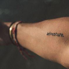 "Polubienia: 122, komentarze: 4 – Tumblr-Pinterest-World (@fan_of_world) na Instagramie: ""Adventure of a life Time  #tattoo #adventure #adventuretattoo #armtattoo #arm #tattooarm #motto…"""