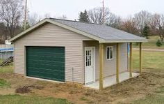 Pole barn garage with porch custom barn pole barn plans, pole barn garage, gara Pole Barn Garage, Pole Barn Homes, Pole Barns, Carport Garage, Garage Plans, Shed Plans, Garage Ideas, Barn Plans, House Plans