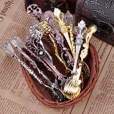 Vintage Gold & Silver Tea Spoons