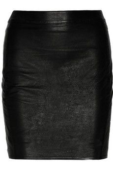 Real leather pencil skirt for $125