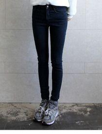 Stylenanda, Korean Fashion, Black Jeans, Pants, K Fashion, Trouser Pants, Black Denim Jeans, Korea Fashion, Women's Pants