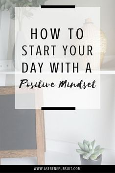 Feeling unmotivated and unhappy in the mornings? Having a happy, positive morning can set the tone for the rest of the day. Start your day off right with these tips on how to create a positive mindset every single morning. Change Your Mindset, Success Mindset, Positive Mindset, Positive Attitude, Positive Affirmations, Positive Thoughts, Positive Quotes, Growth Mindset, Positive Vibes