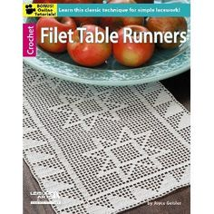 Picture of Filet Table Runners... Check out Maggie's Crochet (maggiescrochet.com)