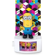 Despicable Me 3 Minion Music-Mate Tim with Voice and Music - Walmart.com
