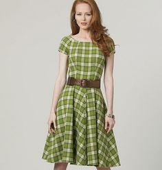 Patron de veste, robe, jupe et pantalon - Vogue 8701