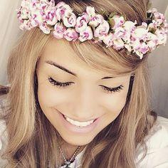 Coroa de Flores HeadBand {Escolha a cor}