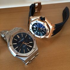 Audemars Piguet Royal Oak 15400 & Royal Oak Offshore Diver |