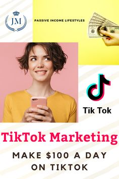 Make $100 Per Day Online With Tik Tok | HOW TO EARN MONEY FROM TIKTOK 2020 (Without Creating Videos). Here's the latest TikTok trend you can't miss if you want to earn money online quickly. TikTok Marketing Strategy: How to use Tik Tok to Grow Your Business, Following Affiliate Marketing, Social Media Marketing, Make 100 A Day, How To Find Out, How To Make, Digital Nomad, Earn Money Online, Growing Your Business, Passive Income
